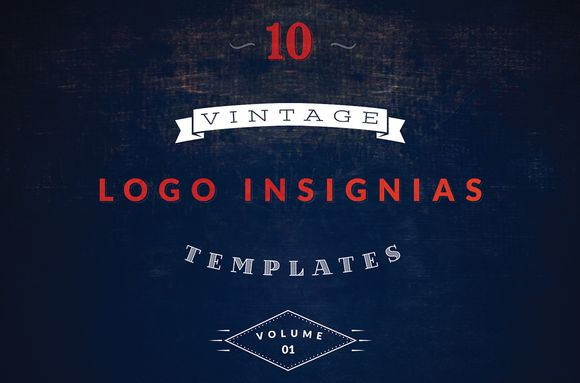 Check out Vintage Logo Templates vol 1 by Brazvan on Creative Market