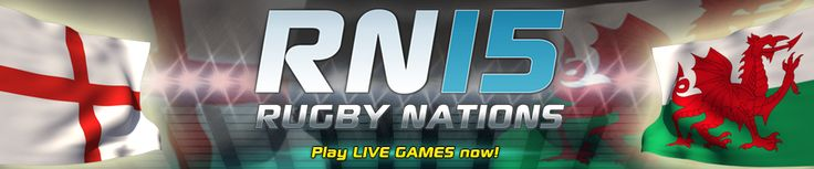 Brand new Rugby Nations 15 LIVE game kicked off today - play along now & decide who's better - England or Wales?