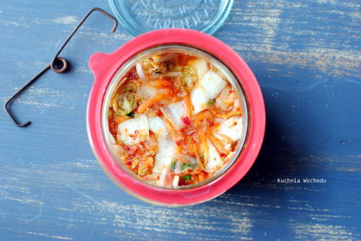 Kimchi - kiszona kapusta pekińska po koreańsku