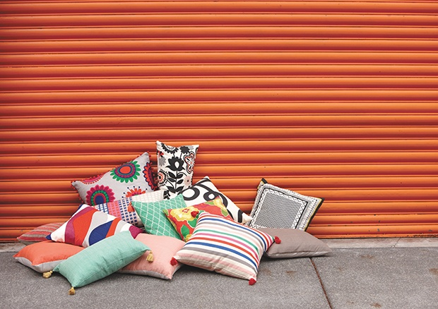 CITTA DESIGN Summer 2012/2013 Collection: Moda Barcelona — Cushions. www.cittadesign.com