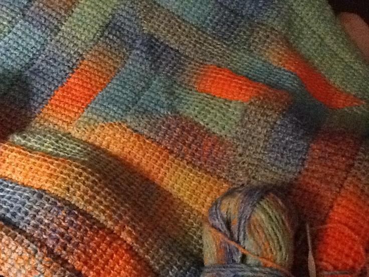 95 best Tunisian Crochet Afghans images on Pinterest   Tunisian ...