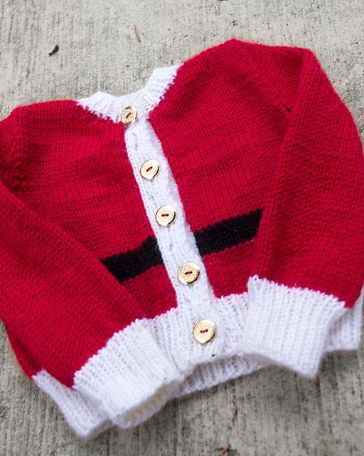 Rocks Santa Yarn Craft Kids