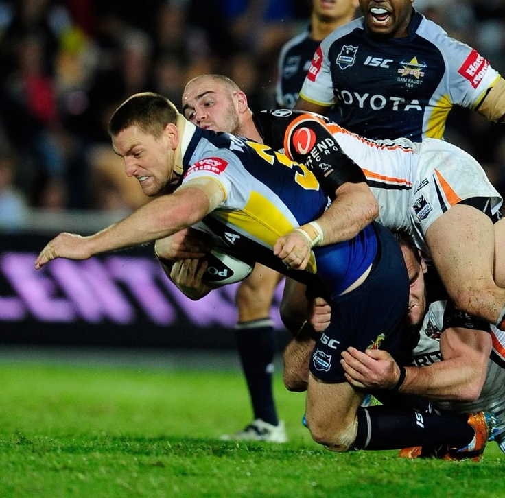 Brent Tate of the North Queensland Cowboys