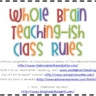 Inspired by Whole Brain Teaching, these are the rules created by Ashley at The Polka Dot Patch that are a twist on the originals. For more inform...