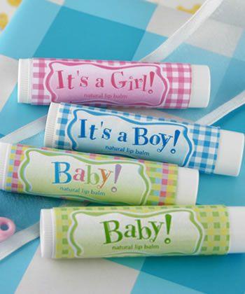 Unique Baby Shower Favors | Lip Balm Favors |Unique Favors | Baby Shower Favors