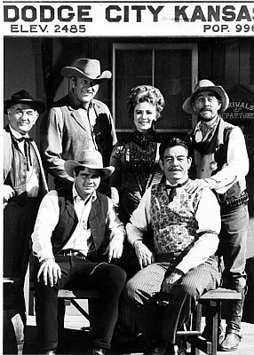 Gunsmoke cast. I can't get too many of the cast pictures. That is called love for the show. What a great program - the best ever made