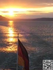 Bodensee in der Abendsonne
