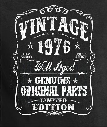 40th Birthday Gift Shirt Turning 40 40 Years Old by BluYeti