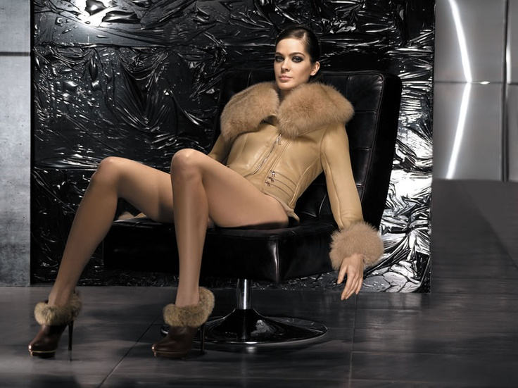 Aphero collection winter 2012  #leather #fashion #exclusive #design #jacket #fur #heels