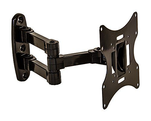 NavePoint Articulating Wall Mount Bracket With Tilt Swivel For LED LCD Plasma Flat Screen TV From 17-37 Inches Black - http://bestdealsontvs.livejournal.com/10968.html