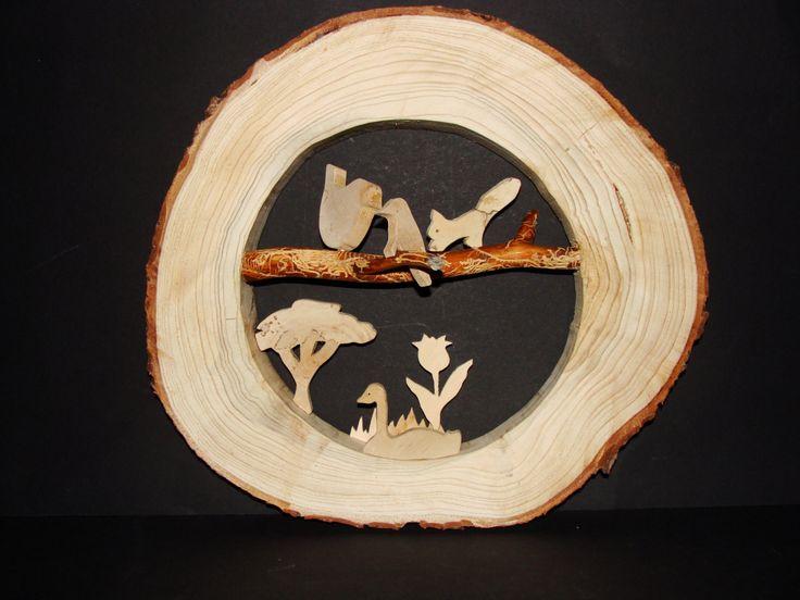 Baumscheibenbild natur von Scandinavicwoodworks auf Etsy