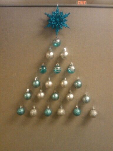25 best ideas about Office christmas decorations on Pinterest