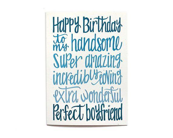 Freund Geburtstagskarte Happy Birthday meine von HennelPaperCo