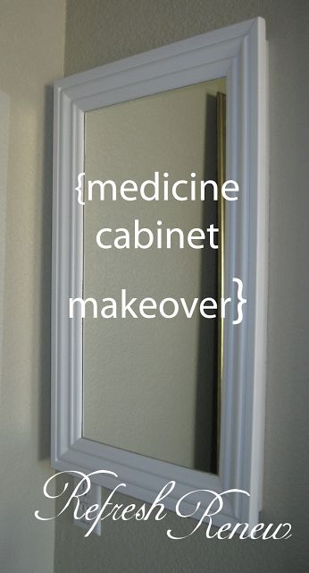 Best 25 Medicine Cabinet Redo Ideas On Pinterest  Medicine Inspiration Small Bathroom Medicine Cabinet Inspiration Design