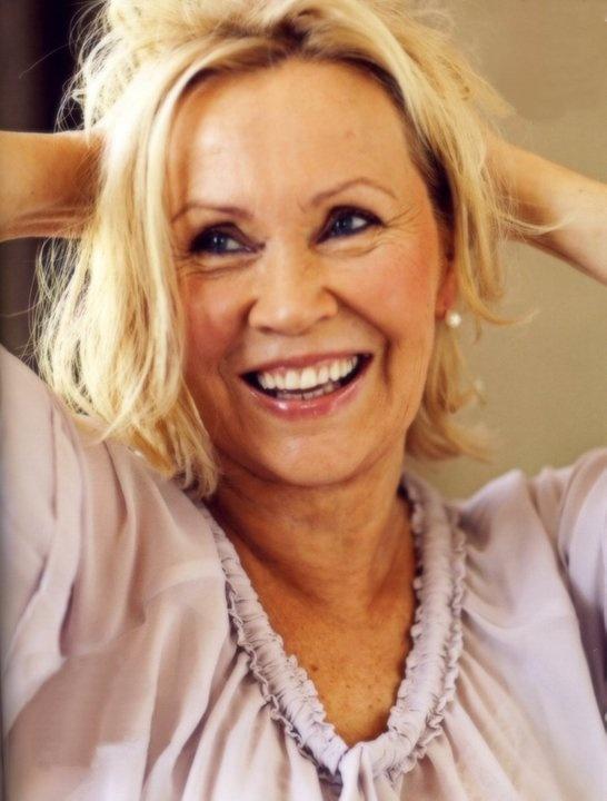 Agnetha (ABBA) at 63