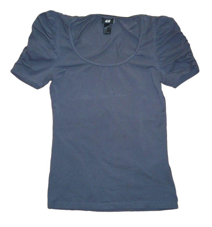 Grey T-shirt Short Sleeve | HM