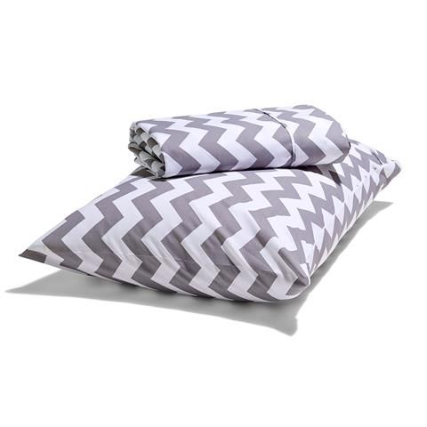 Chevron Sheet Set - Single Bed | Kmart