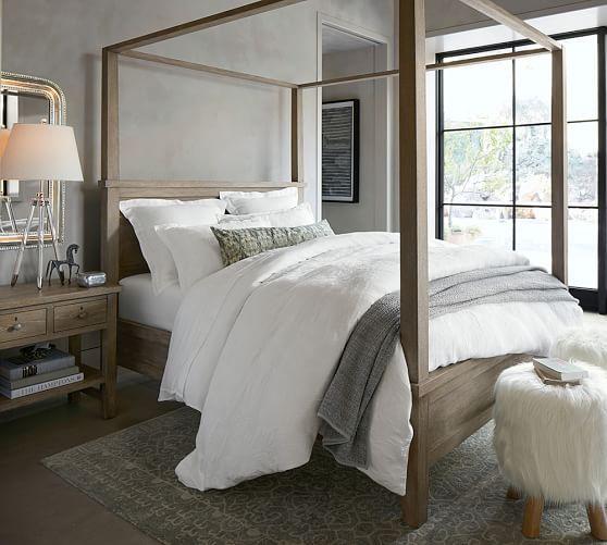 Farmhouse Canopy Bed | Pottery Barn