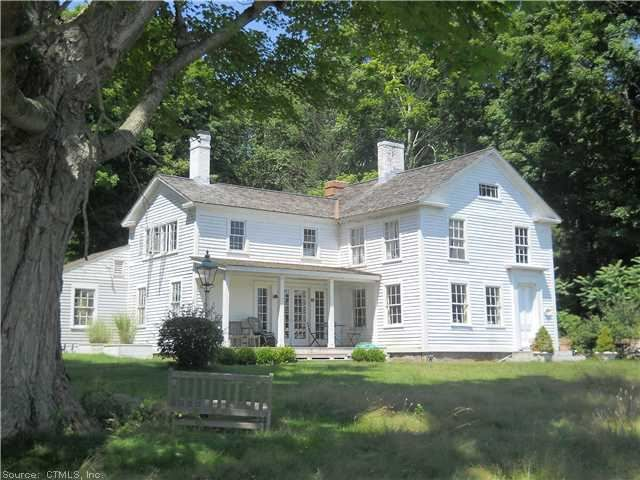 168 Hamburg Rd, Lyme, CT 06371 — New England Farmhouse built c.1853 with many original appointments. Near Hamburg Cove and Nehantic State Park. On scenic Hamburg Road with views of Tiffany Farm cornfields and distant Lyme hills. Sale is subject to the seller's lender's approval.