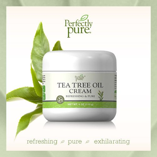 Tea Tree is a pure oil, extracted from the leaves of an evergreen tree native to Australia.  Tea Tree Cream indulges your skin while nourishing it.   What it's completely FREE OF: • Parabens • Petroleum • Mineral Oil • Artificial Color • Artificial Fragrance