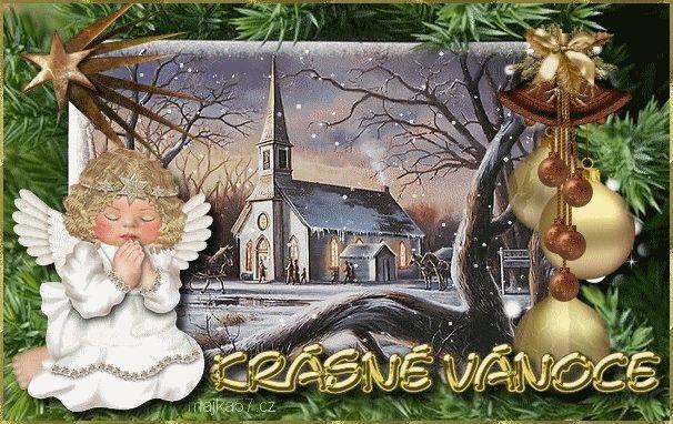 Přání - přáníčka vánoční