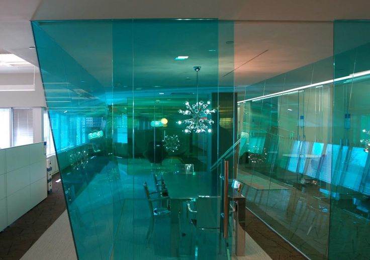 Film Chroma Colored Transparent Films for glass offices