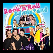 Aptly named, Rock'n'Roll Bandstand, this wonderful 1950's rock'n'roll show will take you down memory lane through the 1950's and 1960's.