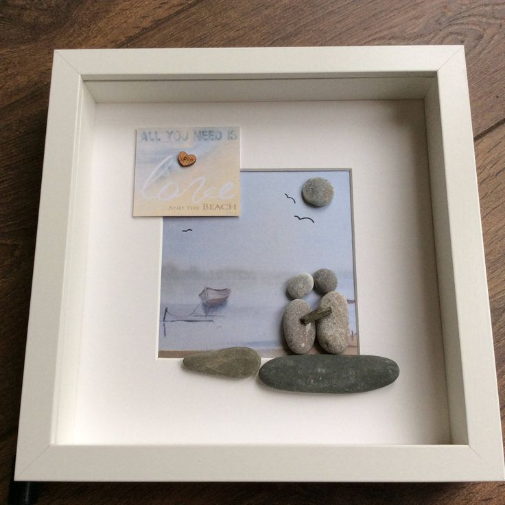 Pebble Art Couple, Valentine gift, gift for her, gift for him, wall art, wall decor, Christmas gift for couples, birthday gift, wedding gift by ThePebbleartShack on Etsy
