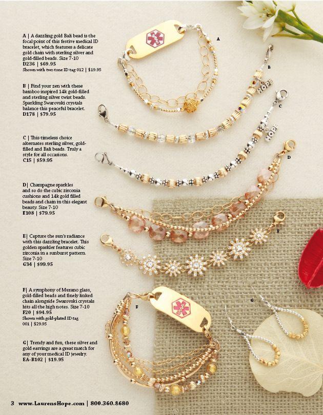 Fresh 113 best Medical Alert Jewelry images on Pinterest | Key rings  ZH78