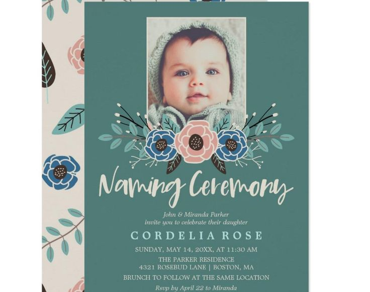 Ms De  Ideas Increbles Sobre Naming Ceremony Invitation En