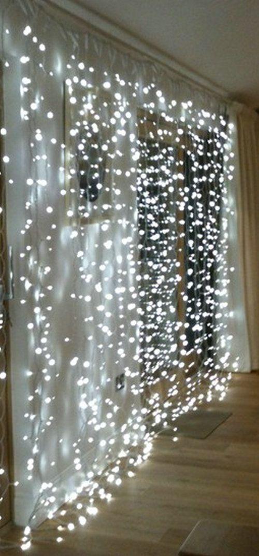 300leds carámbano cadena de hadas llevó la luz de cortina de 300 bombillas de fiesta en el jardín de la boda de Navidad Navidad decoración 220V 3M * 3M 12strands Event & Party Supplies blancos -en desde Hogar y Jardín en Aliexpress.com   Grupo Alibaba