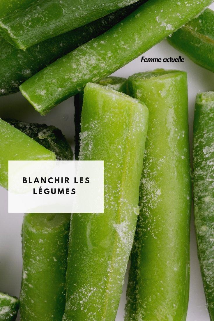 Congeler Haricots Verts Frais : congeler, haricots, verts, frais, Congélation, L'astuce, Blanchir, Légumes, Congeler, Haricots, Verts,, Conserve