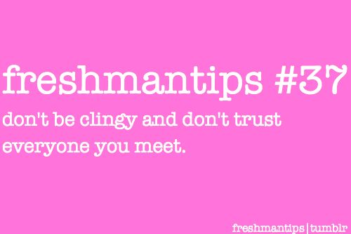 although I don't trust everyone I initially meet, it helps to be reminded.