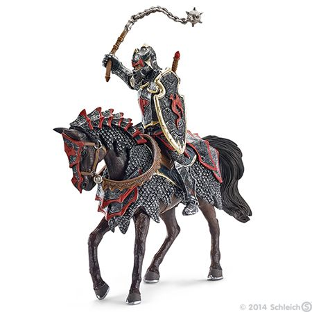Toys   Knights   Dragon knight on horse with flail   70101 ...
