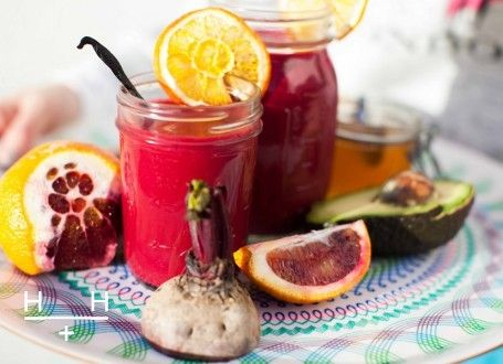 The Love Smoothie. You can see from it's bright pink colour that this smoothie is good for you.  #TheArtofEatingWell