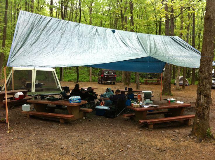 My 20'x30' Camping tarp