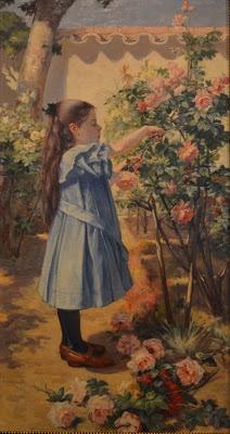 La niña de las flores, Francisco Antonio Cano- [1904]