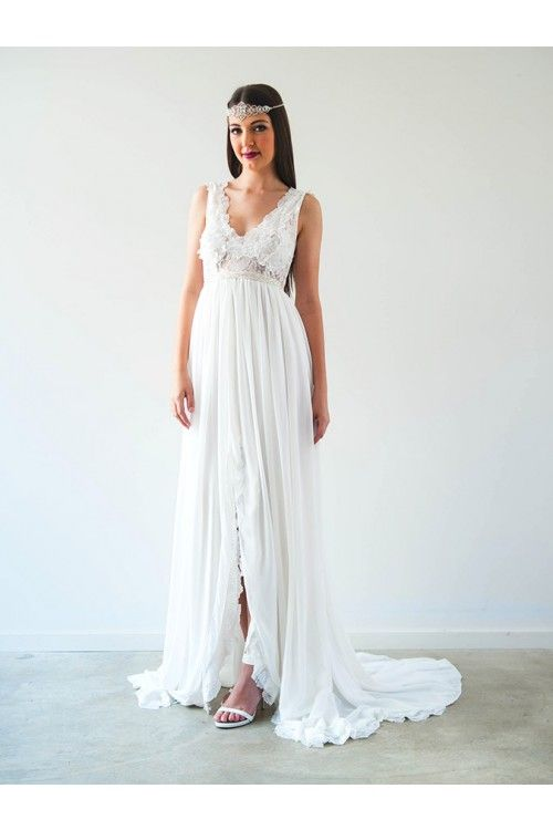 Delicate Summery VIVIENNE GOWN by When Freddie met Lilly http://www.whenfreddiemetlilly.com.au/vivienne-gown-9794.html