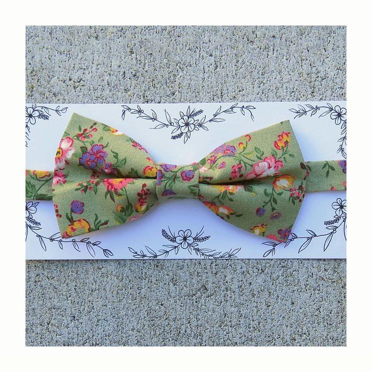 Hand stitched bowtie for ma man ellek.ay on instagram