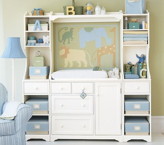 Perfect Madison Changing Table System | Pottery Barn Kids. $1399