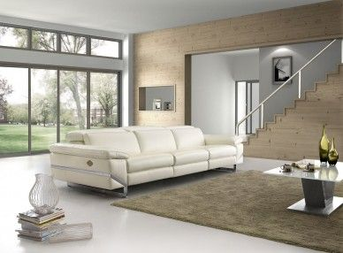Nevada G9474 Reclining Leather Lounge. The Nevada Lounge offers a clean, precise design to enhance the aesthetic of any room with high-tech features that you're going to love. This is the only suite in store that offers an electric headrest mechanism, that reclines to meet your comfort needs.