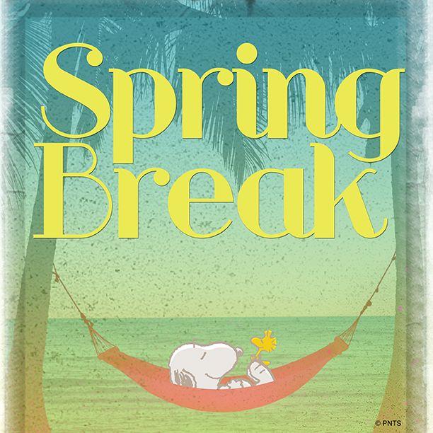 SPRING BREAK!!!! Finally...much needed break from work!! Love working for school district...best perks! #springbreak2018