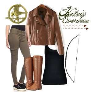 The 25 best katness everdeen costume ideas on pinterest katniss this katniss everdeen halloween costume idea from the hunger games series is perfect for girls and teens its great for last minute you probably already solutioingenieria Gallery