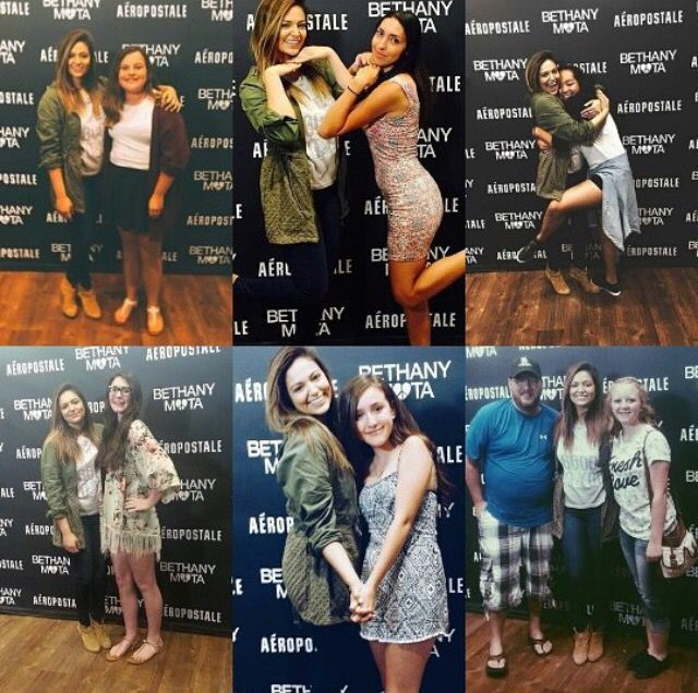 89 best bethany mota meetgreets images on pinterest bethany mota beth and some fans at the colorado meet and greet m4hsunfo