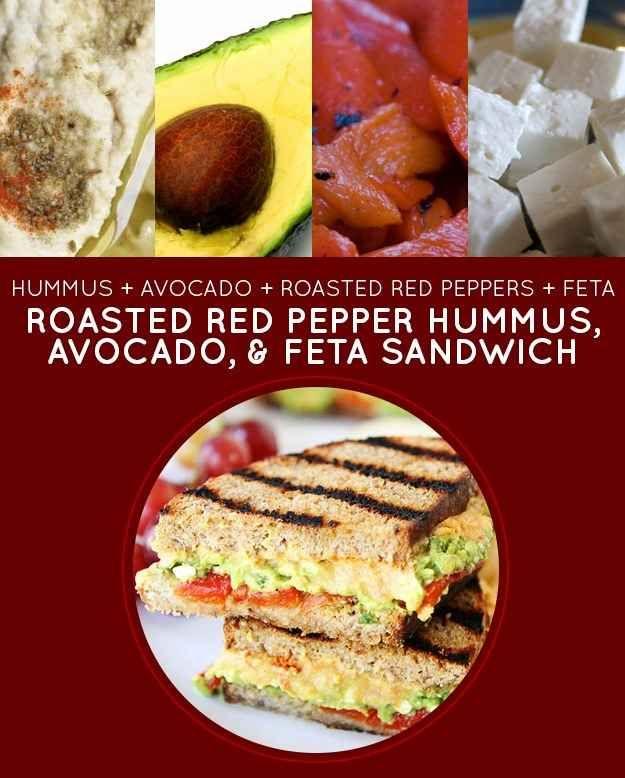 ... & Feta Sandwich | 15 Meatless Lunch Sandwiches That Kids Will Love