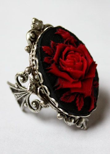 I am inspired by roses and the elegant fashion of Victorian England.