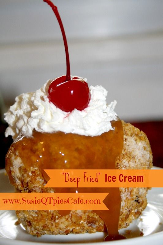 {Mexican Recipes} Deep Fried Ice Cream for your Cinco de Mayo Party!!!