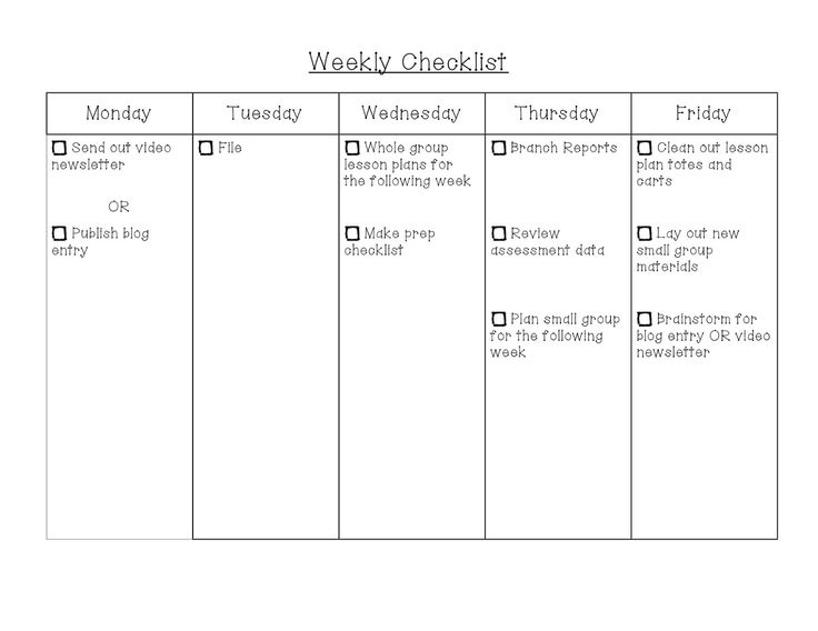 Two Teachers on A Limb - Daily classroom checklist...helps with managing your time after school