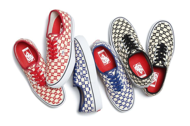 supreme x vans 2016 sk8 hi authentic fall collection