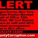 'DA' Rieman and & 'ADA' Marshall Failed and/or Refused to File Oaths of Office. Position vacated and cases must be vacated. | Cat County Corruption